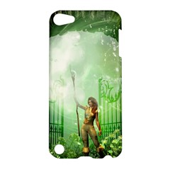 The Gate In The Magical World Apple Ipod Touch 5 Hardshell Case by FantasyWorld7