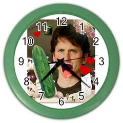 1443925651325 Color Wall Clocks by RustlinBustin