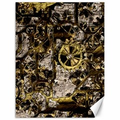 Metal Steampunk  Canvas 12  X 16   by MoreColorsinLife
