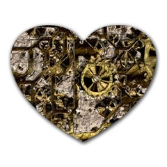 Metal Steampunk  Heart Mousepads by MoreColorsinLife