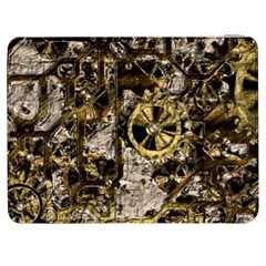Metal Steampunk  Samsung Galaxy Tab 7  P1000 Flip Case by MoreColorsinLife