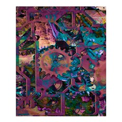 Steampunk Abstract Shower Curtain 60  X 72  (medium)  by MoreColorsinLife