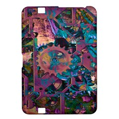 Steampunk Abstract Kindle Fire HD 8.9  by MoreColorsinLife