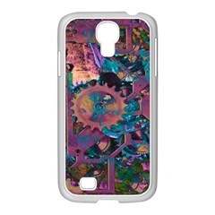 Steampunk Abstract Samsung GALAXY S4 I9500/ I9505 Case (White) by MoreColorsinLife