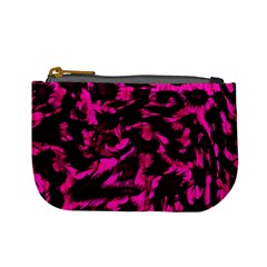 Extreme Pink Cheetah Abstract  Mini Coin Purses