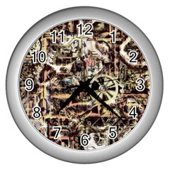 Steampunk 4 Soft Wall Clocks (silver)  by MoreColorsinLife