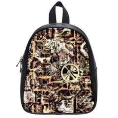 Steampunk 4 Soft School Bags (small)  by MoreColorsinLife