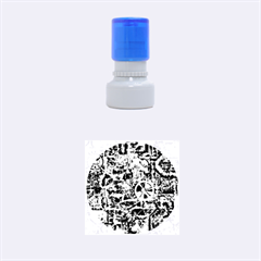 Steampunk 4 Soft Rubber Round Stamps (small)
