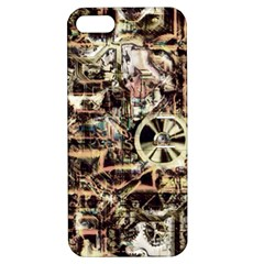 Steampunk 4 Soft Apple iPhone 5 Hardshell Case with Stand by MoreColorsinLife