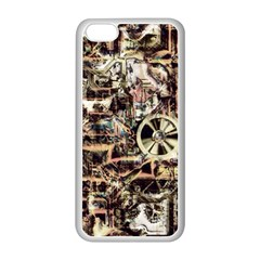 Steampunk 4 Soft Apple Iphone 5c Seamless Case (white) by MoreColorsinLife