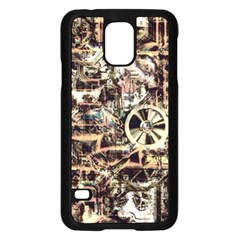 Steampunk 4 Soft Samsung Galaxy S5 Case (black) by MoreColorsinLife