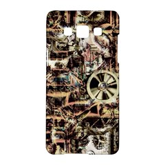 Steampunk 4 Soft Samsung Galaxy A5 Hardshell Case  by MoreColorsinLife