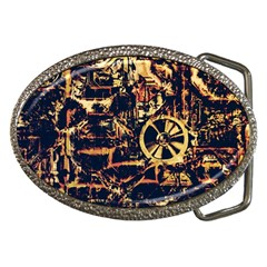 Steampunk 4 Belt Buckles