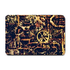 Steampunk 4 Small Doormat  by MoreColorsinLife