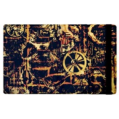 Steampunk 4 Apple Ipad 3/4 Flip Case by MoreColorsinLife