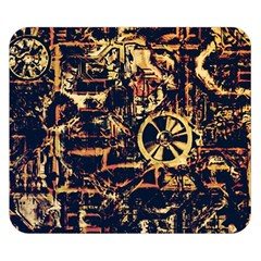 Steampunk 4 Double Sided Flano Blanket (small)  by MoreColorsinLife