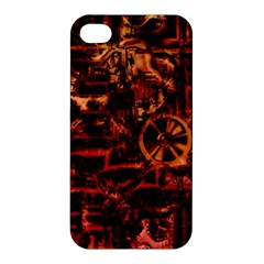 Steampunk 4 Terra Apple Iphone 4/4s Hardshell Case by MoreColorsinLife