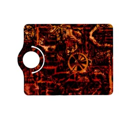 Steampunk 4 Terra Kindle Fire Hd (2013) Flip 360 Case by MoreColorsinLife