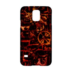 Steampunk 4 Terra Samsung Galaxy S5 Hardshell Case  by MoreColorsinLife