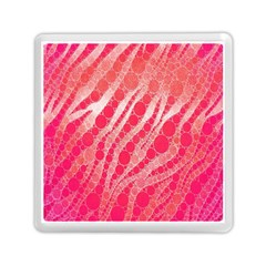 Florescent Pink Zebra Pattern  Memory Card Reader (square)  by OCDesignss