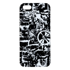 Steampunk Bw Iphone 5s Premium Hardshell Case by MoreColorsinLife