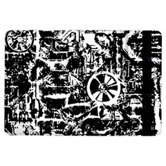 Steampunk Bw Ipad Air Flip by MoreColorsinLife