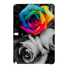 Blach,white Splash Roses Samsung Galaxy Tab Pro 12 2 Hardshell Case