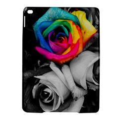Blach,white Splash Roses Ipad Air 2 Hardshell Cases