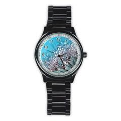 Dandelion 2015 0702 Stainless Steel Round Watches
