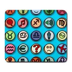 Emotion Pills Large Mousepads by ScienceGeek