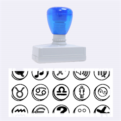 Emotion Pills Rubber Stamps (large) by ScienceGeek