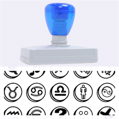 Emotion Pills Rubber Address Stamps (xl) by ScienceGeek