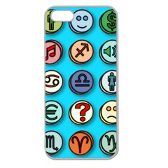 Emotion Pills Apple Seamless Iphone 5 Case (clear) by ScienceGeek