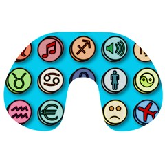 Emotion Pills Travel Neck Pillows by ScienceGeek