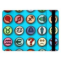 Emotion Pills Samsung Galaxy Tab Pro 12.2  Flip Case by ScienceGeek