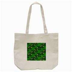 Dna Pattern Tote Bag (cream)  by ScienceGeek