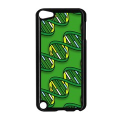 DNA Pattern Apple iPod Touch 5 Case (Black) by ScienceGeek