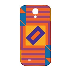 Shapes And Stripes Symmetric Design Samsung Galaxy S4 I9500/i9505  Hardshell Back Case by LalyLauraFLM