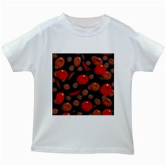 Blood Cells Kids White T Shirts by ScienceGeek