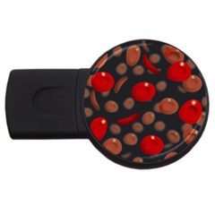 Blood Cells USB Flash Drive Round (1 GB)  by ScienceGeek