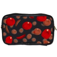 Blood Cells Toiletries Bags 2 Side by ScienceGeek