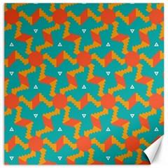 Sun Pattern Canvas 16  X 16  by LalyLauraFLM
