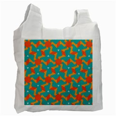 Sun Pattern Recycle Bag (one Side) by LalyLauraFLM