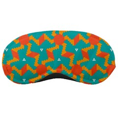 Sun Pattern Sleeping Mask by LalyLauraFLM