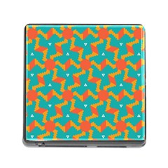 Sun Pattern Memory Card Reader (square) by LalyLauraFLM