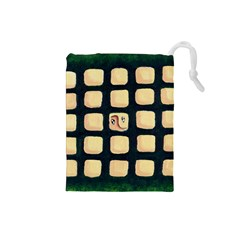 Crowd  Drawstring Pouches (small)  by theimagezone