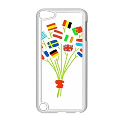 Flag Bouquet Apple iPod Touch 5 Case (White) by theimagezone