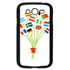 Flag Bouquet Samsung Galaxy Grand DUOS I9082 Case (Black) by theimagezone