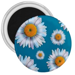 Floating Daisies 3  Magnets by theimagezone