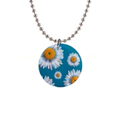 Floating Daisies Button Necklaces by theimagezone